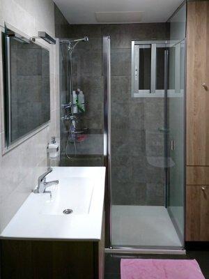 Baño reformado en Marín
