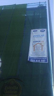 Revestimiento fachada con Surbelev